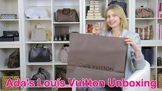 getlinkyoutube.com-Ada's Louis Vuitton unboxing
