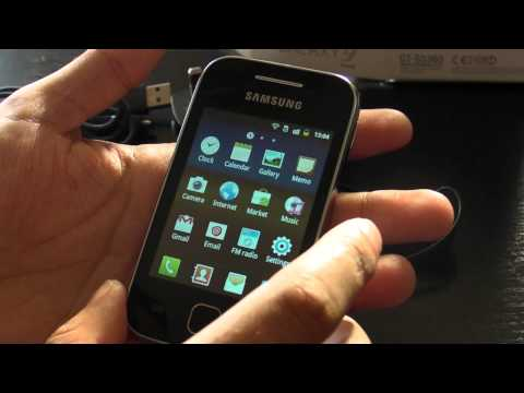 Samsung Galaxy Y S5360 review HD ( in Romana )
