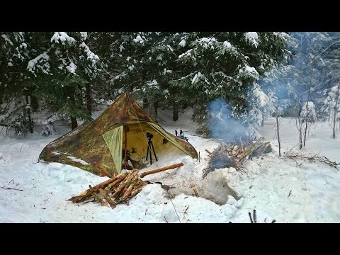 4 Days Solo Winter Camping [teaser] and a big thank you for 600 subscribers