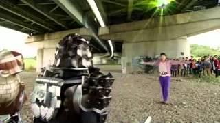 getlinkyoutube.com-Kamen Rider Gaim แปลงร่างแบบไทยๆ