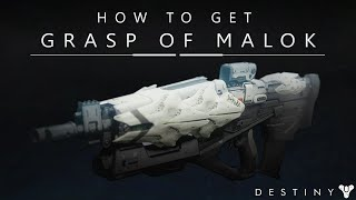 getlinkyoutube.com-Destiny: How To Get The Grasp Of Malok / Weapon Review / Omnigul Exclusive (The Taken King)