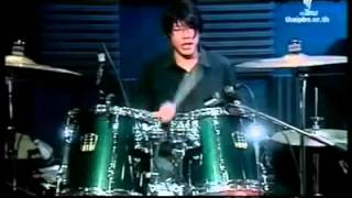 getlinkyoutube.com-Drum solo วัดใจ  - ต่อ Silly Fools