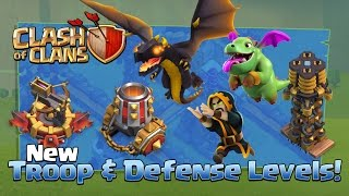 getlinkyoutube.com-Clash of Clans NEW Update TROOPS & DEFENSES