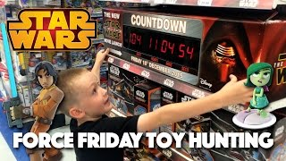 getlinkyoutube.com-Star Wars Force Friday and Disney Infinity 3.0 Toy Hunting