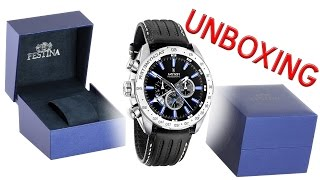 getlinkyoutube.com-FESTINA Chrono - Dual Time 16489/3 unboxing
