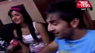 getlinkyoutube.com-Ranbir and Katrina's unseen cute moments
