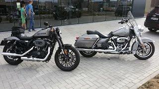 getlinkyoutube.com-To handlebar Harley Davidson Roadster 2017 vs Road King 107 2017