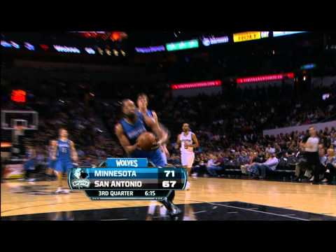 Derrick Williams Goes Up For 360 Dunk