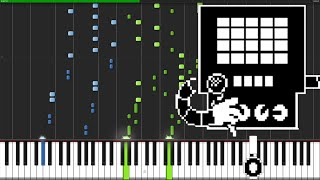 getlinkyoutube.com-Metal Crusher - Undertale [Piano Tutorial] (Synthesia)