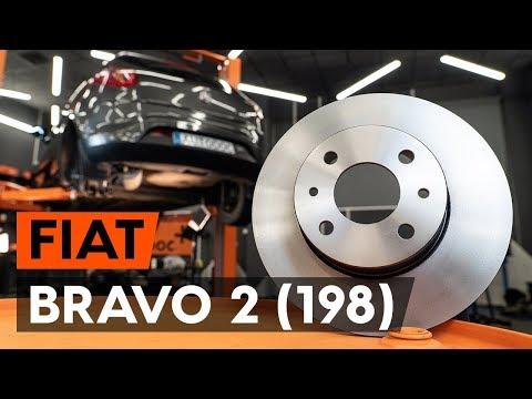 Как заменить задние тормозные диски наFIAT BRAVO 2 (198)(ВИДЕОУРОК AUTODOC)