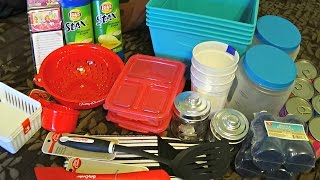 getlinkyoutube.com-Dollar Tree Haul | Organization, Food Storage, Storage, & Kitchen