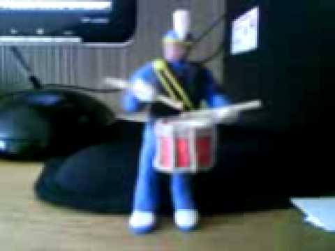 drum multi - timbre, rezonador, solo (plastilina)
