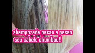 getlinkyoutube.com-shampoozada passo a passo !!em cabelo chumbado !!
