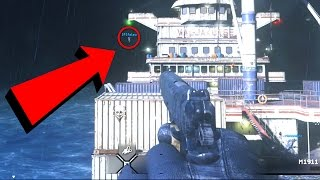 HOW DID HE GET THERE?! (INSANE GLITCH SPOTS) - Call of Duty SLASHER!