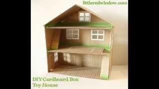 getlinkyoutube.com-Как сделать ДОМ и МЕБЕЛЬ  из картона  How to make a HOUSE and FURNITURE from cardboard