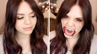 getlinkyoutube.com-The Vampire Diaries: Elena Gilbert • Makeup Tutorial | #spooktober