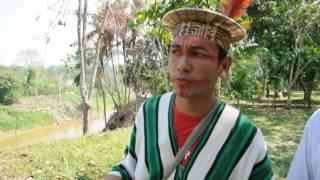 getlinkyoutube.com-Alaskan Milling with House of Indians - Puyanawa and Ashaninka tribes Brazil
