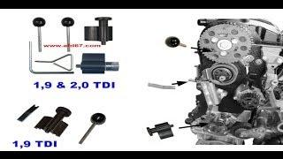 getlinkyoutube.com-Tuto kit Calage courroie distribution VW AUDI SEAT SKODA  1.9L D TDI