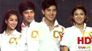getlinkyoutube.com-เจมส์ จิ, มาร์กี้ นำทีมนักแสดง ร่วมงานแถลงข่าว Thai Fight 2014