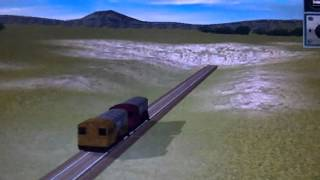 getlinkyoutube.com-Thomas and the magic railroad. The chase.
