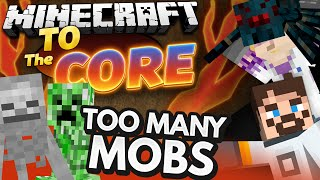 getlinkyoutube.com-Minecraft Mods - To The Core #9 TOO MANY MOBS