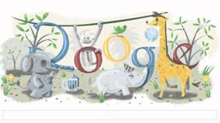 Happy new year - Google doodles (2000-2011)