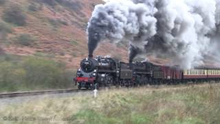 getlinkyoutube.com-35 NYMR 3-11-16  North Yorkshire Moors Railway Standard 4MT Charter