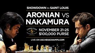 getlinkyoutube.com-2014 Aronian vs Nakamura Blitz