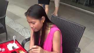 getlinkyoutube.com-Hot Filipino Women RABBI JEW BARKER Gets Lucky at the AYALA MALL