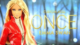 getlinkyoutube.com-DIY - Custom Doll:  ONCE Upon A Time Emma Swan - Handmade - Doll - Crafts