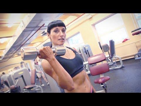 Тренировка плеч и рук для женщин от Зинаиды Руденко.