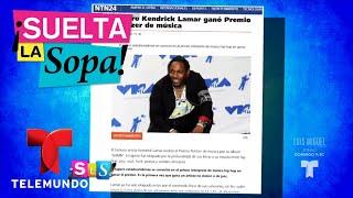 Kendrick Lamar recibe el Premio Pulitzer de Música   Suelta La Sopa   Entretenimiento