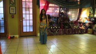 getlinkyoutube.com-Little girl Belly Dancer- 11-year-old belly dancer Orlando