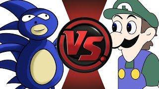 getlinkyoutube.com-SANIC vs WEEGEE! Cartoon Fight Club Episode 16!!