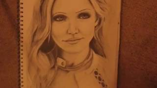 getlinkyoutube.com-Drawing Cameron Diaz