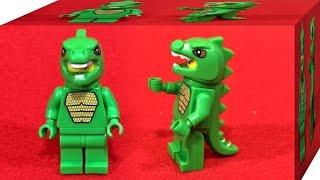 getlinkyoutube.com-LELE 도마뱀 인간 알바시리즈 레고 짝퉁 미니피규어 조립 리뷰 Lego knockoff 8805 series 5 minifigures lizardman