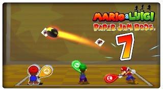 MARIO & LUIGI PAPER JAM BROS. Part 7: Sprinten und Trio-Attacken!