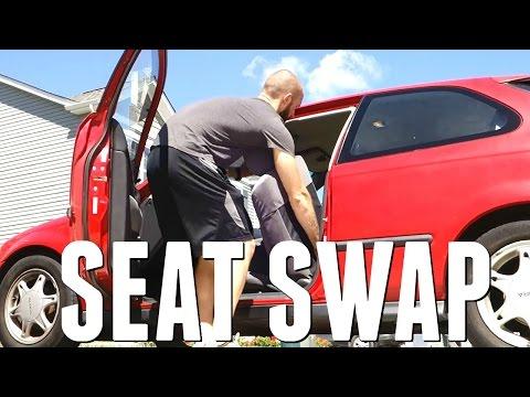 How To Swap Integra Seats In Civic EK || Honda Civic Ek9 Build