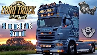 getlinkyoutube.com-Euro Truck Simulator 2  - Sneepels Scania V8 Sound + Download