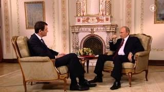 """getlinkyoutube.com-Wladimir Putin erteilt """"Demokratie-Abgabe"""" Jörg Schönenborn eine politische Lehrstunde (1/2)"""