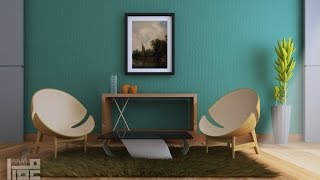 getlinkyoutube.com-3dsmax interior lesson with vray 3.2 by isam zaghairet
