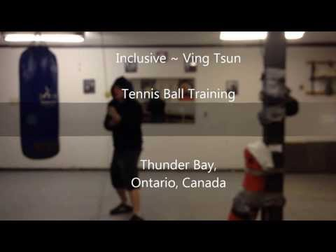 Wing Chun - Tennis Ball Training