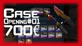 getlinkyoutube.com-2x Knife 700€ | Case Opening #01 | CS:GO