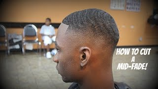 getlinkyoutube.com-Barber Tutorial: How To Cut 360 Waves With a Mid Fade HD* By: Allan Upshaw