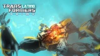getlinkyoutube.com-Transformers Prime Beast Hunters - Megatron's Death - Subtitulado en Español