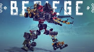 getlinkyoutube.com-7-IN-1 TRANSFORMER! BEST CREATION EVER! | Besiege #92 | Player Creations!