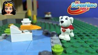 getlinkyoutube.com-LEGO DC Super Hero Girls, Lashina Tank 41233