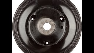GM buick 3.8l 3800 harmonic balancer replacement,  part 1 knocking