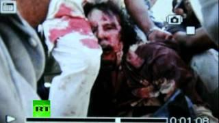 Gaddafi Dead: GRAPHIC photo of colonel covered in blood Dia Di Bunuh Seseorang Yang Benci Dengan Dia Duhh Kasihan Ya Aku Lihat Nya Ahja Gak Tega WOW bagi yang kasihan