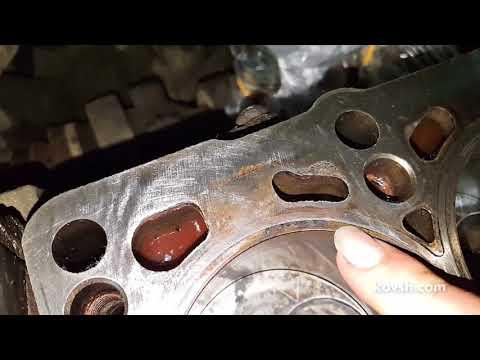 Как нельзя гильзовать цилиндры и почему пробивает прокладки ГБЦ, VW Sharan 1.9d UIS/PDE, AJM